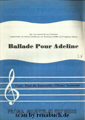 Ballade Pur Adeline Richard Clayderman