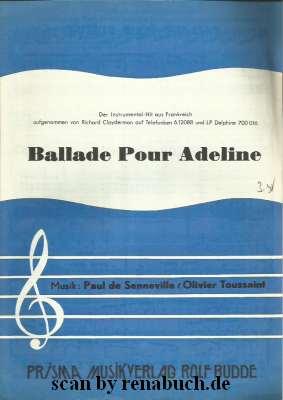 Ballade Pur Adeline Richard Clayderman