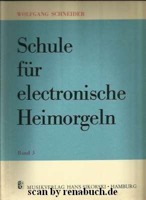 Schule für electronische Heimorgeln