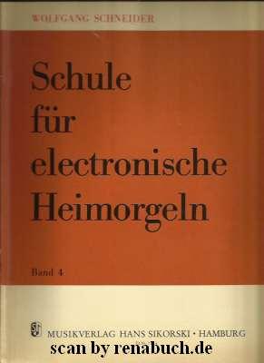 Schule für electronische Heimorgeln, Band 4
