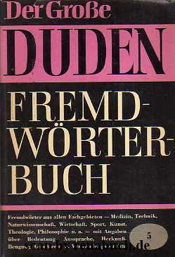 Duden: Fremdwörterbuch