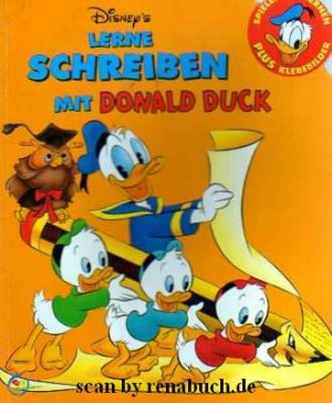 Lerne Schreiben mit Donald Duck