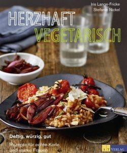 Buchcover Herzhaft vegetarisch - vorgestellt im werner-haerter-archiv.de