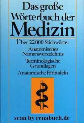 Das größe Wörterbuch der Medizin