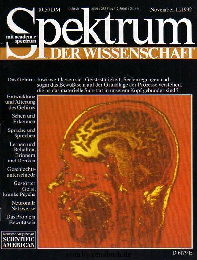 Spektrum der Wissenschaft 11-1992