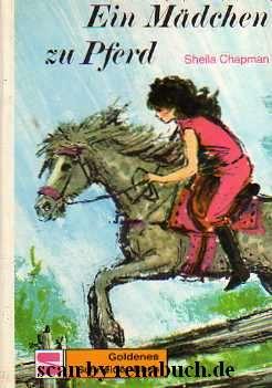 Ein Mädchen zu Pferd