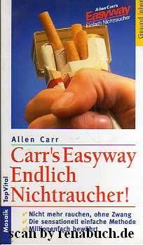 Carr´s Easyway Endlich Nichtraucher!