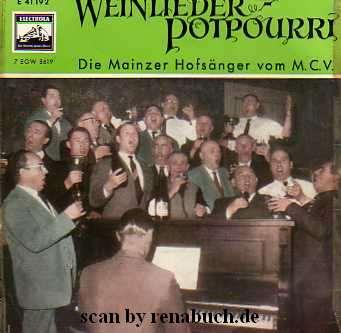 Weinlieder-Potpourri
