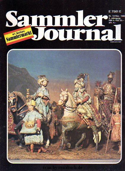 Sammler Journal 12/1980