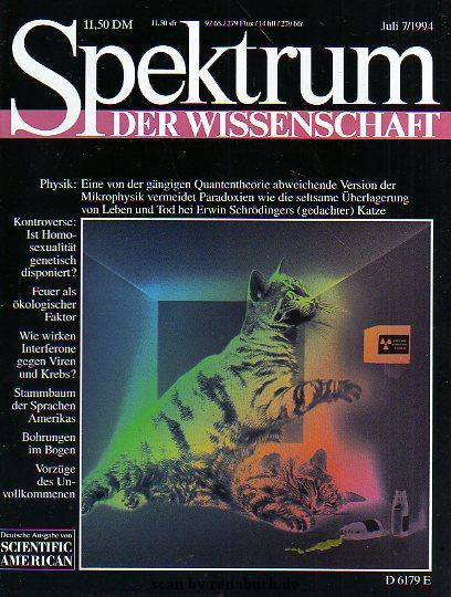 Spektrum der Wissenschaft 7/1994