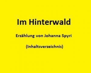 Im Hinterwald