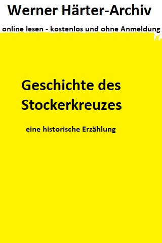 Geschichte des Stockerkreuzes