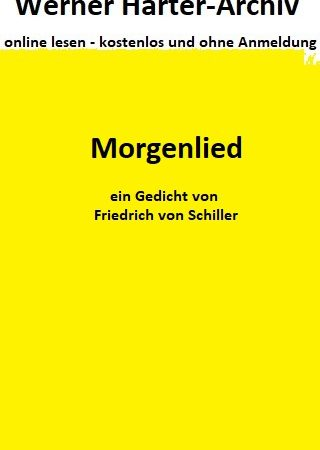 Morgenlied