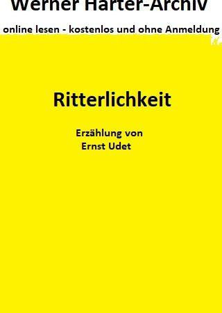 Ritterlichkeit