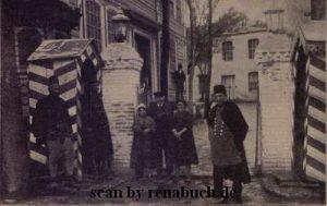 Ein Doppelposten in Konstantinopel