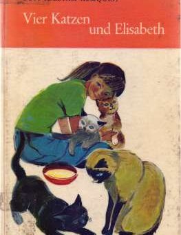 Vier Katzen und Elisabeth - Guit Idestam-Almquist - vorgestellt im werner-haerter-archiv.de