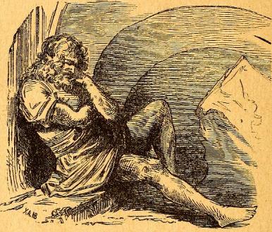 Der Riese aus Das Zauberhorn - Neue Märchen seinen lieben Enkeln erzählt von Großvater - im werner-haerter-archiv.de