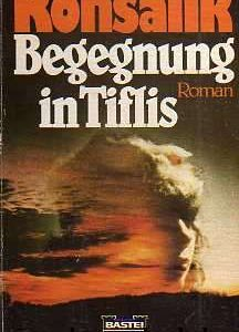 """Buchcover zu """"Begegnung in Tiflis"""" von Heinz G. Konsalik, vorgestellt im werner-haerter-archiv.de"""
