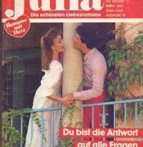 """Cover zum Heftroman """"Du bist die Antwort auf alle Fragen"""" von Anne Mather, erschienen im Cora-Verlag, vorgestellt im werner-haerter-archiv.de"""