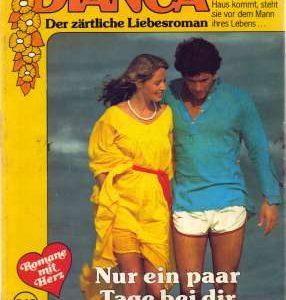 """Heftcover zu dem Roman """"Nur ein paar Tage bei dir"""", Kay Thorpe, vorgestellt im werner-haerter-archiv.de"""