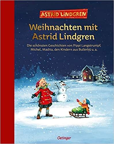 """Buchcover zu """"Weihnachten mit Astrid Lindgren"""" - vorgestellt im werner-haerter-archiv.de"""
