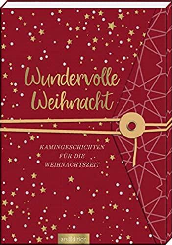"""Buchcover zu """"Wundervolle Weihnacht Kamingeschichten für die Weihnachtszeit"""" - vorgestellt im werner-haerter-archiv.de"""